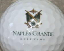 (1) Naples Grande Golf Club Golf Course Logo Golf Ball