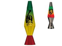 Licensed Bob Marley Lava Lamp - Cool Rasta Tint Lava Lamp Original Power