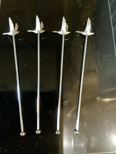 More details for grey goose cocktail stirrers x4 free p&p home pub/bar/mancave/party