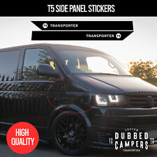 VW T5 Side Panel Sticker Decal