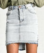 One Teaspoon Denim Regular Size Skirts for Women
