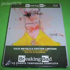 BREAKING BAD CUARTA TEMPORADA COMPLETA BLU-RAY STEELBOOK EDICION LIMITADA
