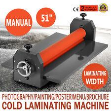 1,3 m Manuale Desktop Freddo Laminator macchina di laminazione Laminatrice Menù
