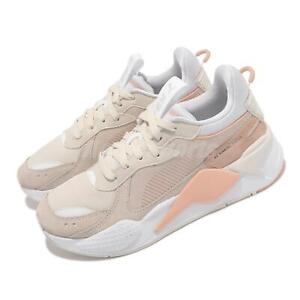 Puma RS-X Reinvent Wns Ivory Orange White Women Casual Dad Shoes 371008-11