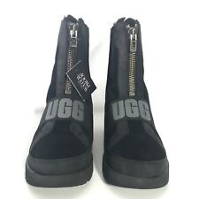W UGG CONNESS BLACK WATERPROOF SUEDE LEATHER BOOTS US 9 / Uk 7/EU 40