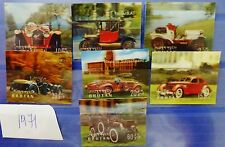 Bhutan  set of Stamps  in 3d   Classical Cars  Free Shipping