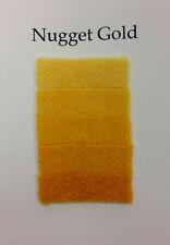 1/3 Oz Nugget Gold Cushing Acid Dye Feathers Wool Alpaca Cashmere Non-bleeding