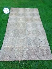 SISAL NATURAL SEA GRASS RUG MAT approx 120 x 210cm HALL KITCHEN PORCH (4' x 7')