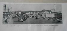 New York La rampe bouble du viaduc de New Jersey Image Print 1935