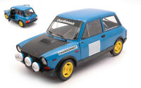 Model Car Rally Scale 1:18 Solido Autobianchi A112 diecast Abarth Rallye