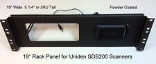 """19"""" Rack Mount Panel For Uniden SDS200 Scanner with Speaker  3RU Panel"""