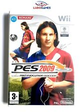 Pro Evolution Soccer 2009 PES Wii PAL/SPA Precintado Videojuego Nuevo New Sealed