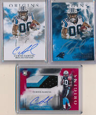 CURTIS SAMUEL 2017 Origins Base & Silver Ink AUTO /99, RED 3 Clr Patch AUTO /99