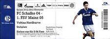 Ticket BL 2012/2013 FC Schalke 04 - 1. FSV Mainz 05, 25.09.2012