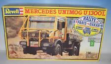 Revell 1/24 Bausatz Kit Nr. 7450 Mercedes Unimog 1300L Paris - Dakkar OVP #2734