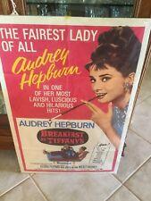 Original Audrey Hepburn Breakfast At Tiffany's Poster!