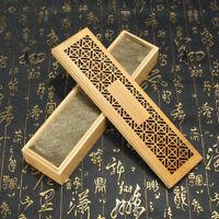 Ancien Bamboo Incense Stick Holder Burning Joss Insence Box Insense Burner