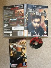 DEAD TO RIGHTS NINTENDO GAMECUBE GAME WITH MANUAL OFFICIAL UK PAL