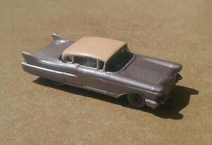Clean MATCHBOX Lesney Cadillac Sixty Special Lilac Gray Grey Wheel Vintage No.27