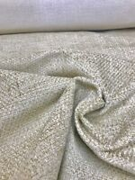 LAURA ASHLEY MINK CREAM CHENILLE UPHOLSTERY FABRIC 2.9 METRES (1.5m+1.4m)