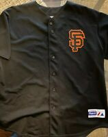 San Francisco Giants MLB Team MAJESTIC Baseball Jersey Vintage Mens Sz XXL