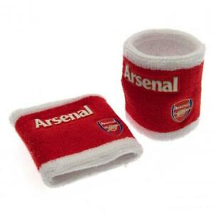 Official ARSENAL FC Sweatbands WRISTBANDS School Sports Football Accessory