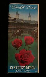 Secretariat 1973 Kentucky Derby Program Movie Prop Secretariat Triple Crown