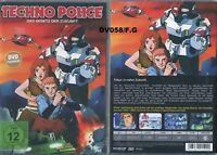 DVD - Techno Police - Das Gesetz der Zukunft - Neu/Ovp Neuware. Trickfilm 80ger