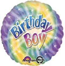 "18"" Amscan Birthday Boy Foil Helium Balloon"
