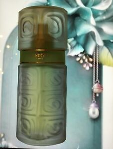 Used Ô de Lancome edt 38/75 ml left spray women perfume frosted bottle