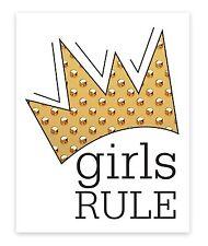 Room decor for teen girls, Girls rule, Teen girl room decor, girls posters