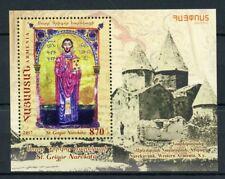 Armenia 2017 MNH Gregory of Narek St Grigor Narekatsi 1v M/S Religion Stamps