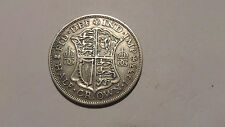 1933 HALF CROWN. GEORGE V- SILVER HALF-CROWN COIN.