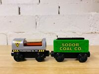 Oil Car & Coal Car Set - Thomas The Tank Engine & Friends Wooden Railway Trains