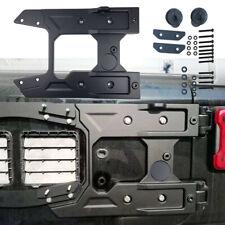Spare Tire Carrier Tailgate Bracket Reinforcement Kit for Jeep Wrangler JL 2018+
