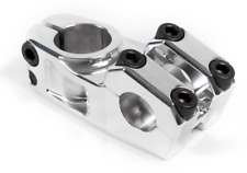S&M BIKES RACE XLT STEM POLISHED SILVER 55 BMX BIKE 55mm NECK GOOSE