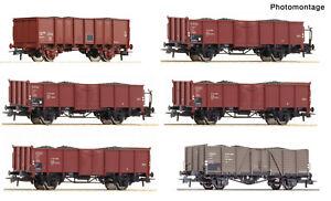 Roco aus 75945 Display Kokstransport, 2 Wagen DB, Omm55, 75948 + 75947, NEUWARE