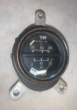 temp & Oil Gauge out of 1967.5 Datsun Roadster.  Needs some refurbishment —T2— G