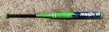 Worth Mayhem 120 MAY120 Booger 34/27 Lime Green Softball Bat OG Rare!