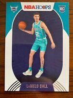 2020-21 Panini NBA Hoops Lamelo Ball Rookie #223 Charlotte Hornets RC Mint Cha