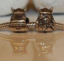 Wickinger Viking Vikingo Männchen 925 Sterling Silber European Bead Beads Charms
