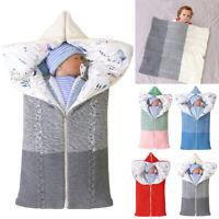 Babydecke Einschlagdecke Babyschale WinterFußsack Schlafsack Kinderwagen 1PCS