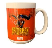 SPIDERMAN Coffee Mug2004 Marvel Comic Sherwood Red/White Marvel