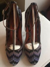 Missoni Rashel Snake Heel Shoes - Women's Size 38 (UK5)