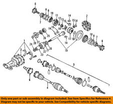 NISSAN OEM Rear Differential-Pinion Seal 38189Y081A