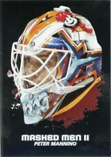 09/10 BETWEEN THE PIPES MASKED MEN II MASK SILVER #MM-29 PETER MANNINO *44364