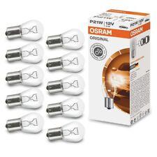 p21w OSRAM 12V ba15s 21w 7506 BREMSLICHT RÜCKLICHT LAMPE GLÜHBIRNE 10x STÜCK