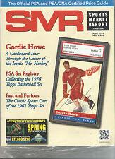 SPORTS MARKET REPORT, PSA PRICE GUIDE,  April, 2014 - Gordie Howe