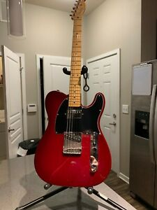 Fender Telecaster MM 1994 Red. Beautiful dark maple neck. Fender option neck PU