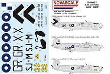 RAAF B-24 Liberator Decals 1/48 Scale N48037